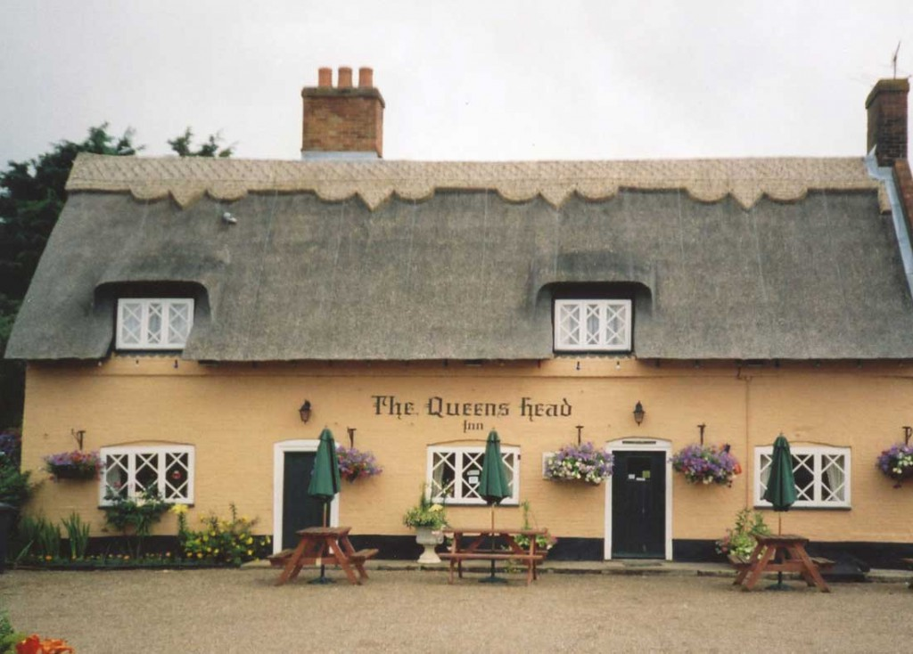 The Queens Head in Blyford