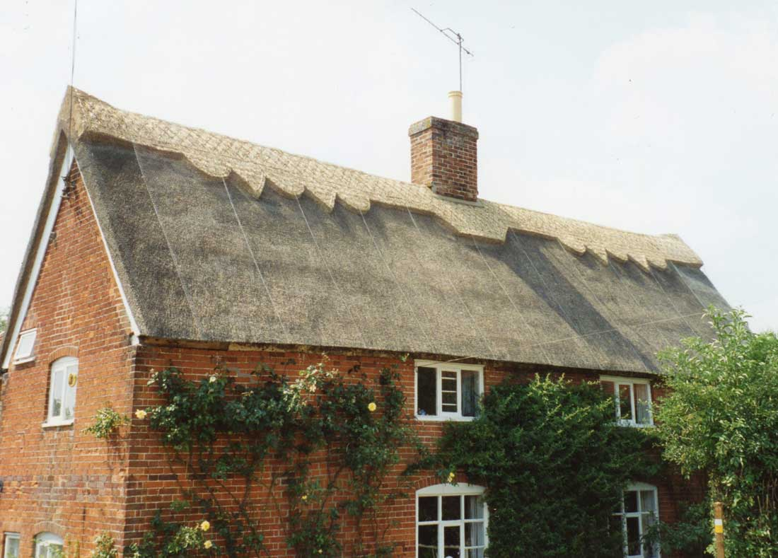 Thatched cottage in Bruisyard