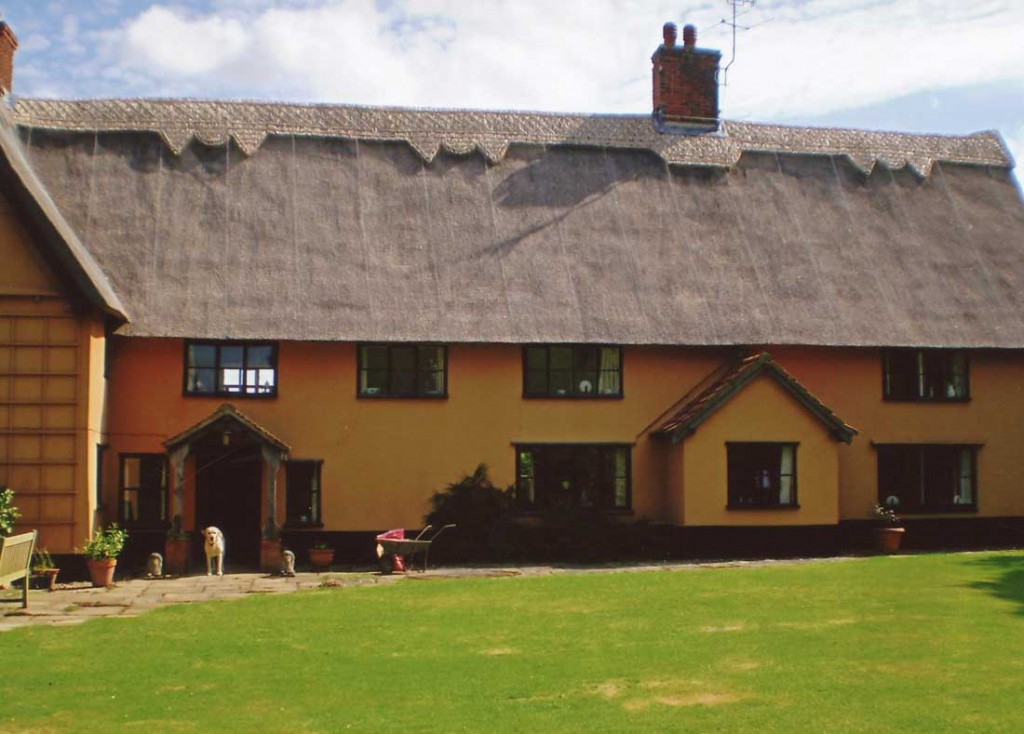 Thatched house in Fressingfield