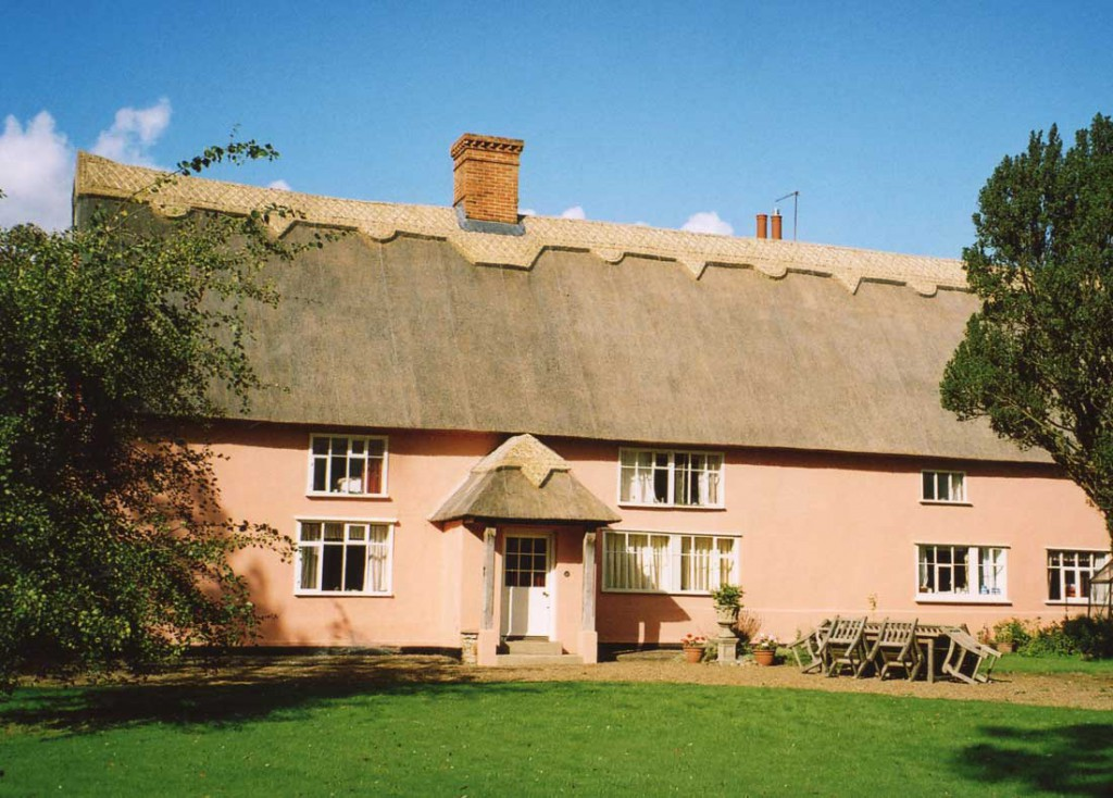 Thatched house in Laxfield