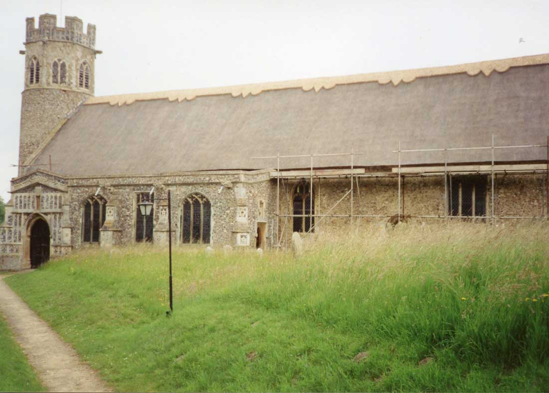 Theberton Church