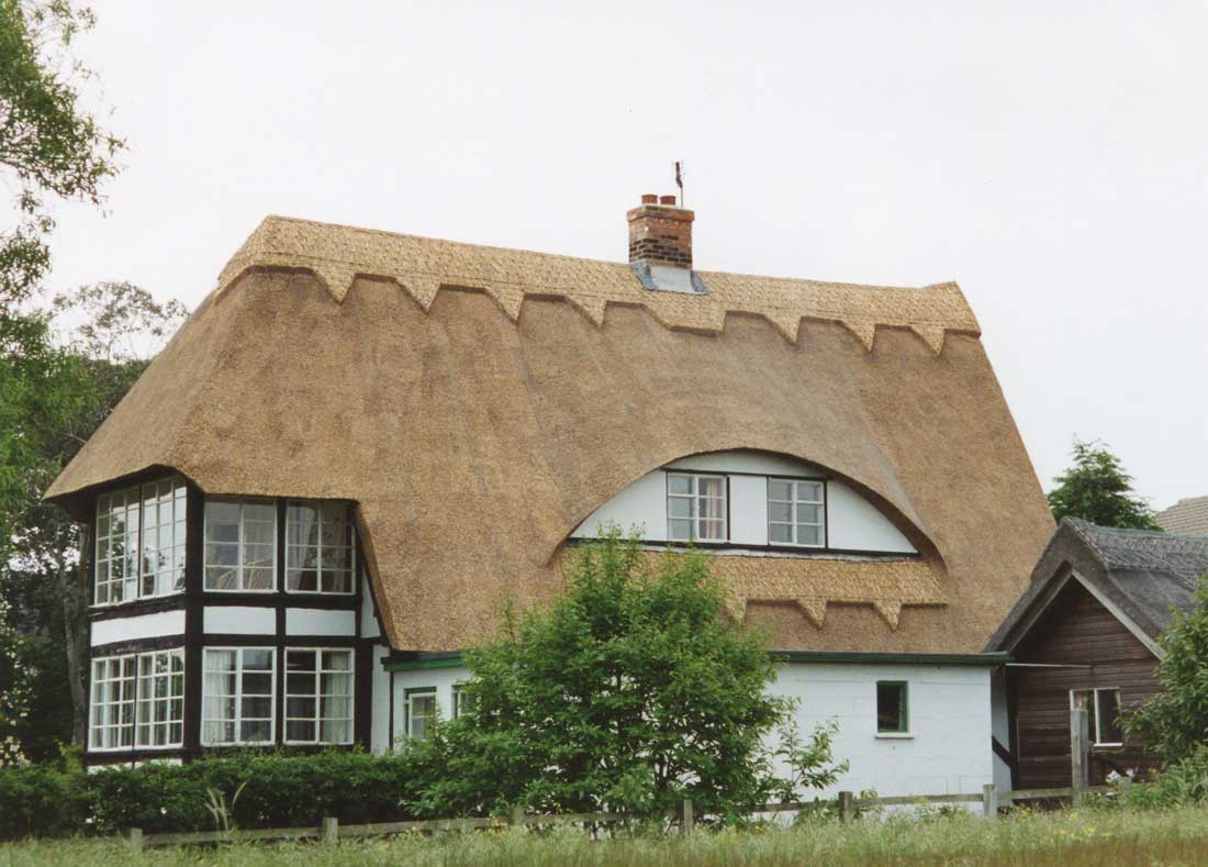 Thatched house in Walberswick